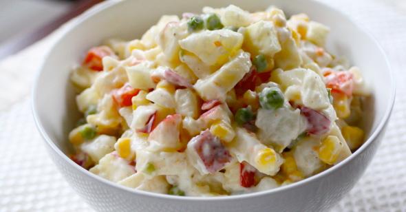 Potato Salad with La Cima Hearts of Palm